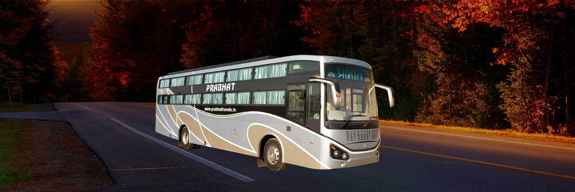 Online Bus Ticket Booking Prabhat Travels